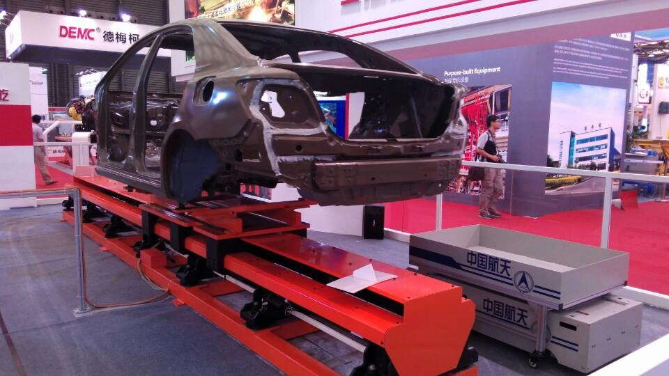 国际汽车制造展厅